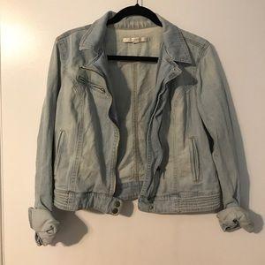Lauren Conrad Light Wash Denim Jacket
